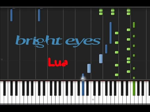 Bright Eyes - Lua [Piano Tutorial] (♫) - YouTube