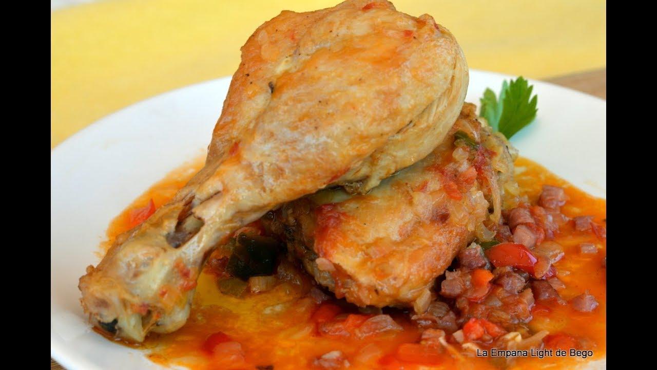 Pollo Al Chilindrón Receta Fácil