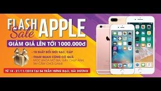 Giảm từ 500K đến 1 triệu đồng cho iPhone 6S Plus và iPhone 7 Plus 128GB - Super Flash Sale Apple