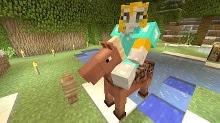 Minecraft Xbox - Cave Den - Flying Horse (49)