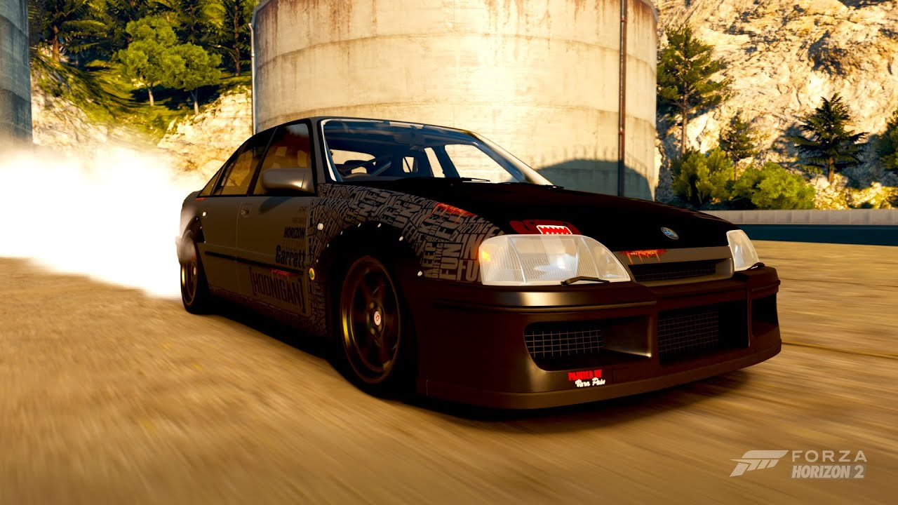 forza horizon 2 amazing lotus carlton drift build youtube. Black Bedroom Furniture Sets. Home Design Ideas