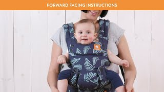 How to Face Out in Explore Baby Carrier