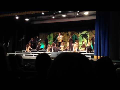 Poca high school show choir 2017 ( welcome to the jungle)