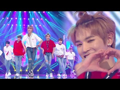 """""""CUTE"""" NCT 127 (Neciti 127) - TOUCH (touch) @ Lagu Populer Inkigayo 20180408"""