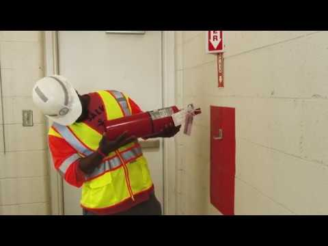 VDOT Best Practices – Safety, Inspection And Use Of Multipurpose ABC Fire Extinguishers