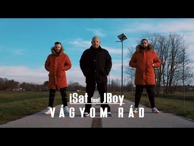 iSAT  feat. JBoy - Vágyom rád (Official Video)