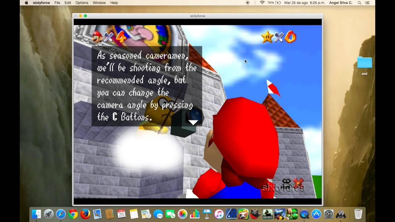 super mario 64 para windows 7