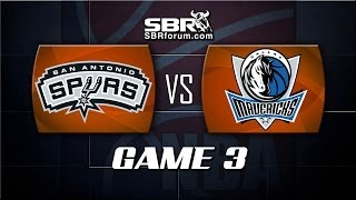NBA Picks: San Antonio Spurs vs. Dallas Mavericks Game 3