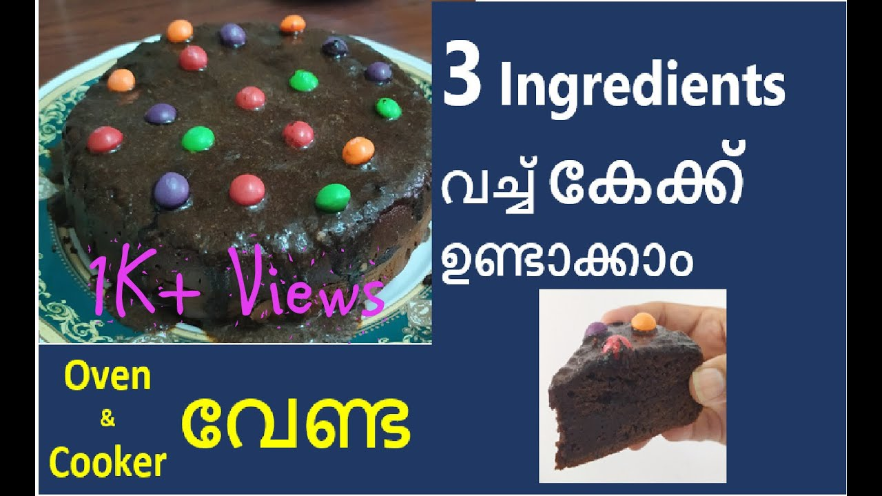 Ingredients Cake 3 Birthday