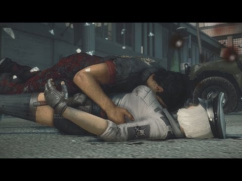 Dead Rising 3 - Hilde Psychopath Boss Fight Xbox One Gameplay