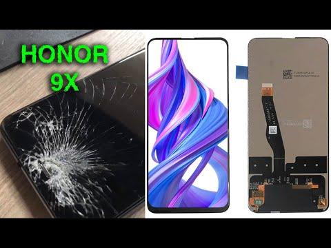 КАК ПОМЕНЯТЬ Дисплей HONOR 9X, Замена Дисплея Huawei Honor 9x