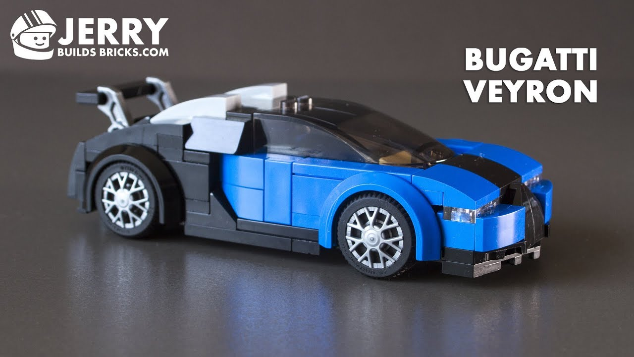 lego bugatti veyron instructions moc 45 youtube. Black Bedroom Furniture Sets. Home Design Ideas