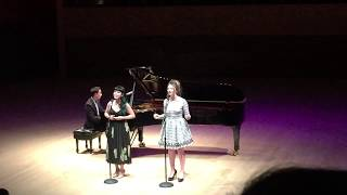 """FLIGHT"" Performed by Jacqueline Emerson, Francesca Dawis, and Paul Gregg- Stanford Senior Recital"