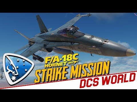 DCS World 2.5: Strike Mission (F/A-18C Hornet Alpha)