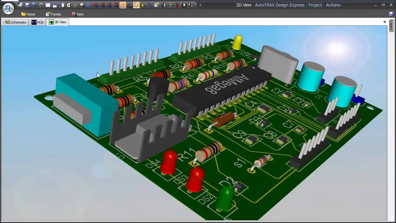 Schematic, Simulation, PCB Design and Solid Modeling - YouTube