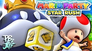 TOAD FIGHTING BOSSES? | Mario Party Star Rush (Part 1)