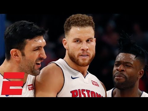 Blake Griffin's 50 points lead Pistons to win vs 76ers | NBA Highlights