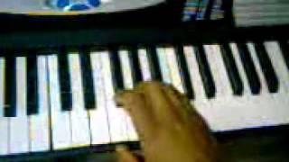 Velivu niranjoreesho-malayalam qurbana song  pyano