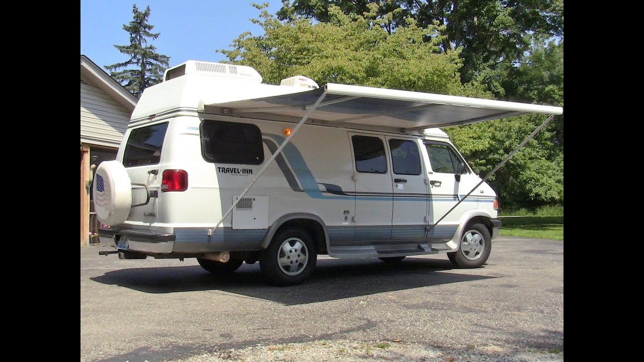 1995 Dodge Conversion Rv Camper Van Youtube