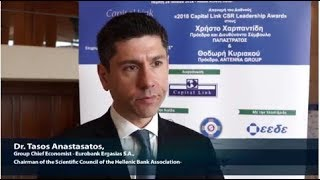 2018 8th Annual Capital Link CSR Forum - Dr. Anastasatos Interview