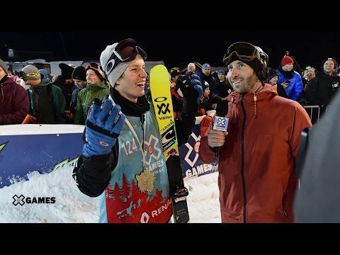 Oystein Braaten wins Men's Ski Slopestyle gold | X Games Norway 2017