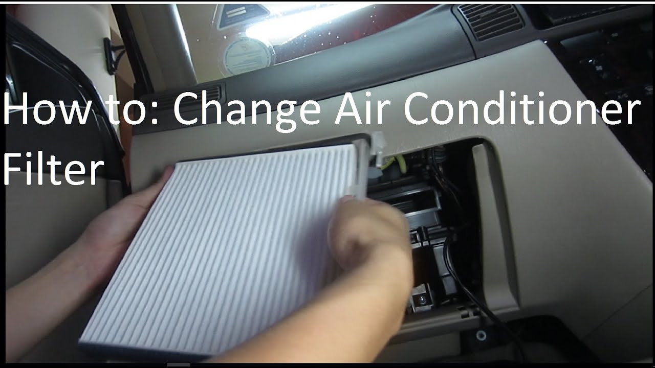 how to change your car 39 s air conditioner filter easy youtube. Black Bedroom Furniture Sets. Home Design Ideas