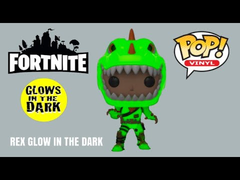 Rex Glow In The Dark Funko Pop Vinyl Fortnite Special Edition Exclusive GITD