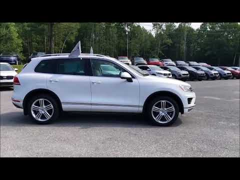 Certified 2015 Volkswagen Touareg TDI Sport with Technology