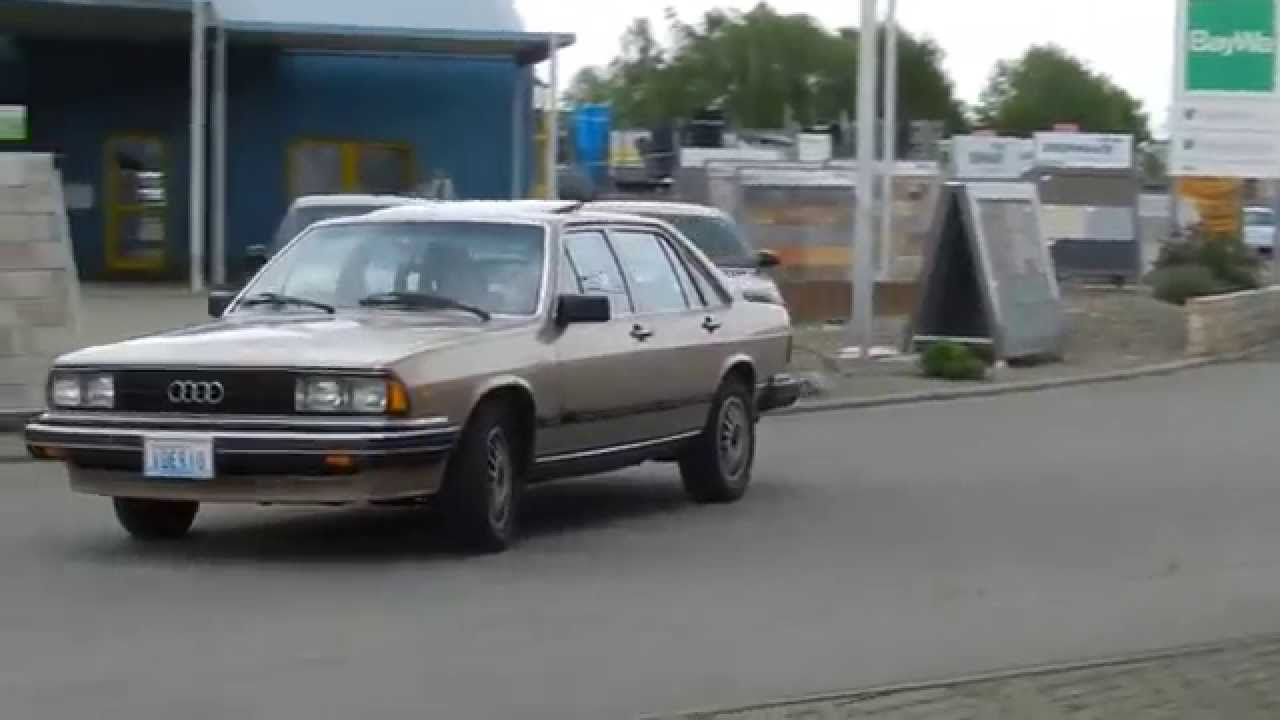 1983 Audi 5000 Turbo -- Typ 43 -- US Modell im Erstlack - YouTube