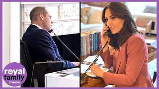 Prince William And Kate's Secret Volunteering Work Revealed In Video Call