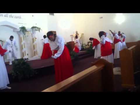 """Faith Tabernacle Praise Dance """"Rain On Us"""" by Sha Simpson"""