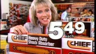 Chief Auto Parts Horn California 30 sec CA TV 84 103 5/9/84 DJMC Red Car