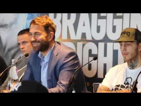 FRANKIE GAVIN v SAM EGGINGTON - FULL & UNCUT PRESS CONFERENCE (WITH UNDERCARD) / BRAGGING RIGHTS