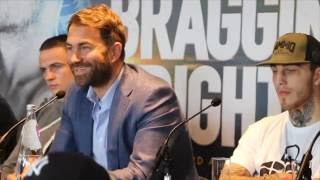 FRANKIE GAVIN v SAM EGGINGTON - FULL & UNCUT PRESS CONFERENCE (WITH UNDERCARD) / BRAGGING RIGHTS