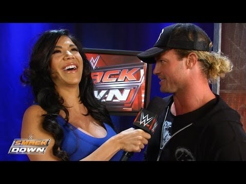 Rosa Interviewt Dolph Zu Seinem 'Trick Or Treat' Street Fight: SmackDown Fallout – 29. Oktober 2015