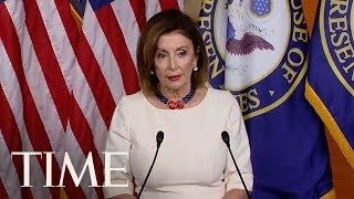 Speaker Pelosi Says Whistleblower Complaint Shows Trump Engaged In Cover-Up | TIME