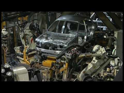 Jaguar / Land Rover Halewood Plant Factory Footage