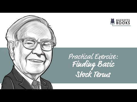 4 (PE). Finding Basic Stock Terms