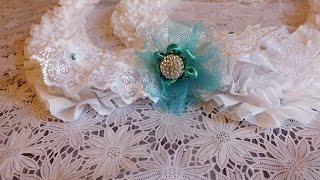Подвязка невесты своими руками поделки