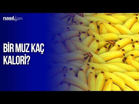 Bir Tane Muz Kaç Kalori Diyet Kilo Nasilcom Youtube