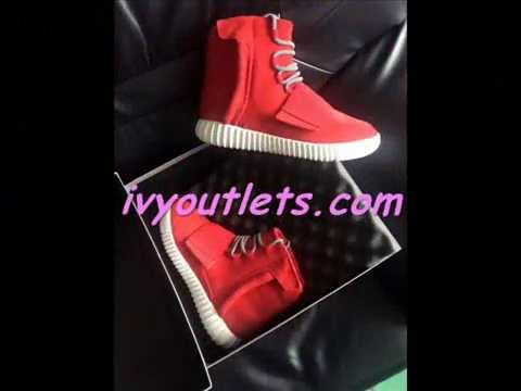 Adidas Yeezy 750 Red