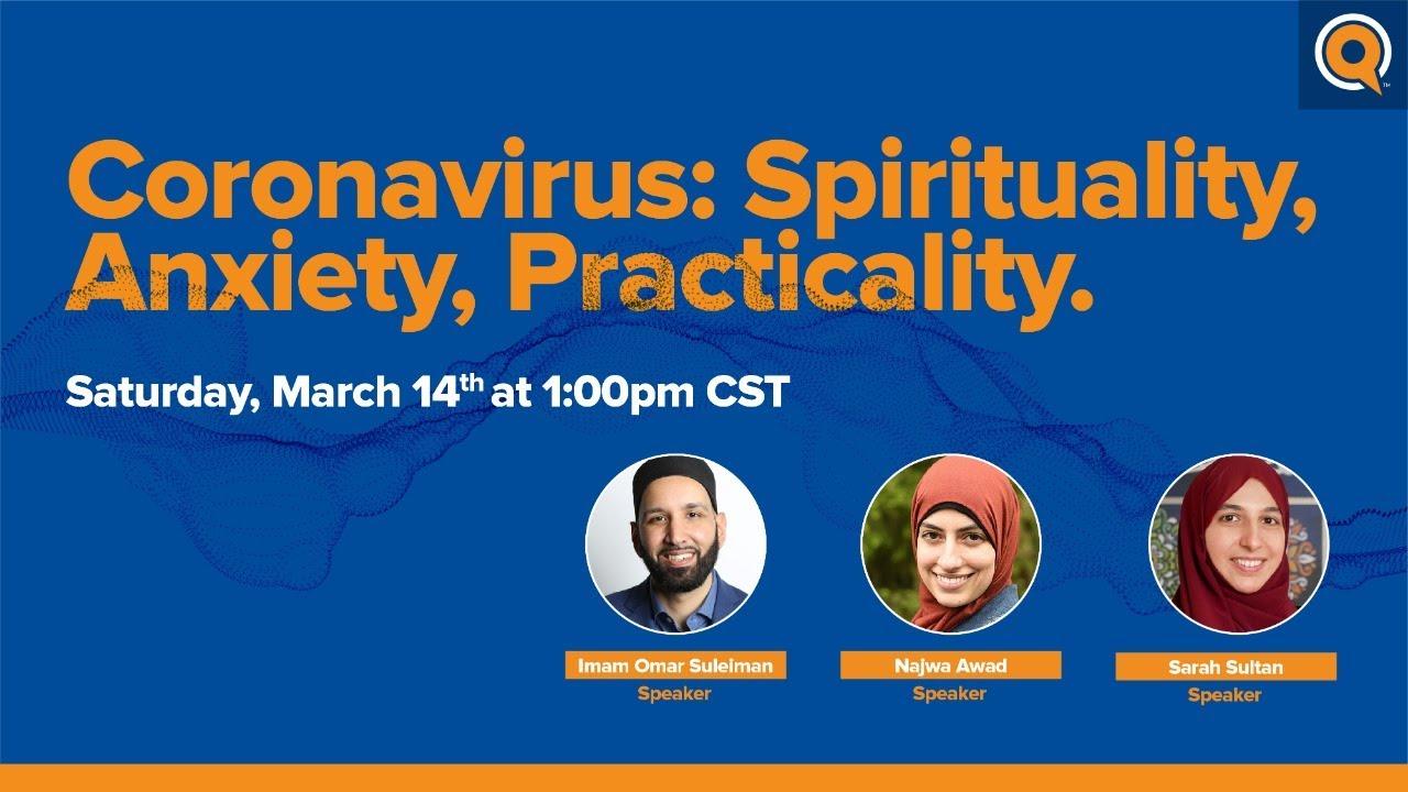 Webinar | Coronavirus: Spirituality, Anxiety, Practicality