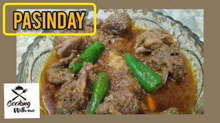 Beef Pasinday | Cooking With Me