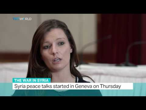 The War in Syria: Syria peace talks started in Geneva on Thursday