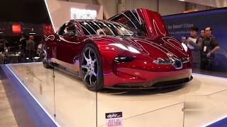 The marvel of technology in 2020 Electric Cars-Fisker EMotion Concept   CES 2018