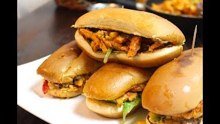 CHILLI CHICKEN SANDWICH/ چلی چکن سینڈوچ *COOK WITH FAIZA*