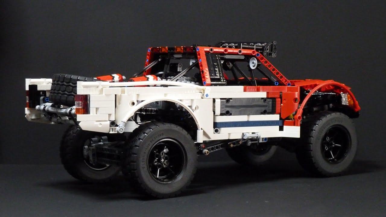 lego technic red car