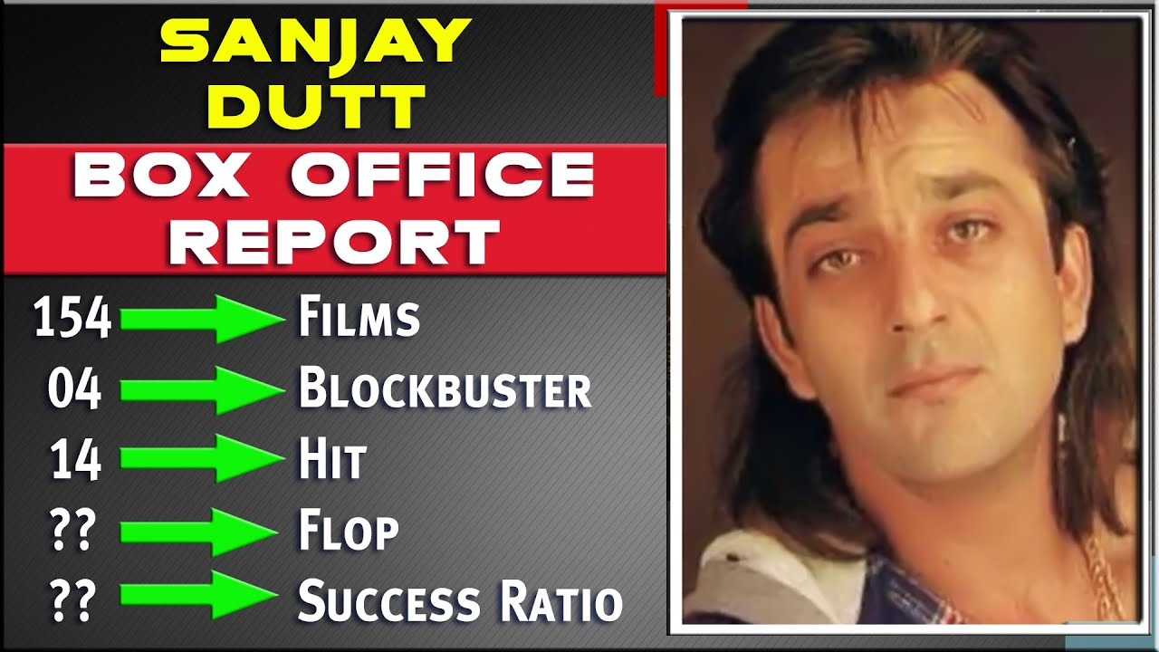 Sanjay Dutt All Movies List Hit And Flop Box Office Collection Analysis Success Ratio Upcoming Youtube