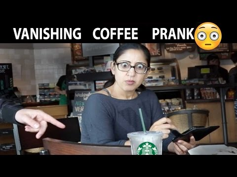 Pranking lonely people at Starbucks😳 ☕️ -Julien Magic