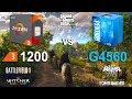 Ryzen 3 1200 vs Pentium G4560 Test in 6 Games